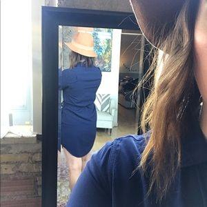 Gap Navy Blue Shirt Dress